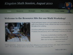 Teacher Math Conference Website