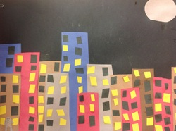 Charles Sheeler City Scape Collage Grade 3 Urban and Rural