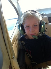 8-year-old Cessna Passenger